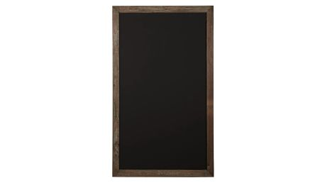 IB LAURSEN Tabule v dřevěném rámu Black, černá barva, hnědá barva, dřevo
