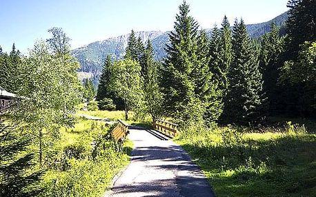 Relaxační letní pobyt na chatě Malá Rennerovka, polopenze, příjemná atmosféra, domácí prostředí.