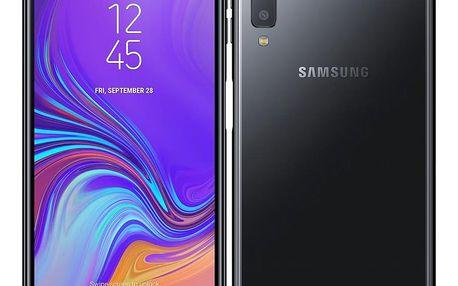 Mobilní telefon Samsung A7 Dual SIM (SM-A750FZKUXEZ) černý