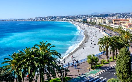 2 noci na Francouzské riviéře: Nice i Monako