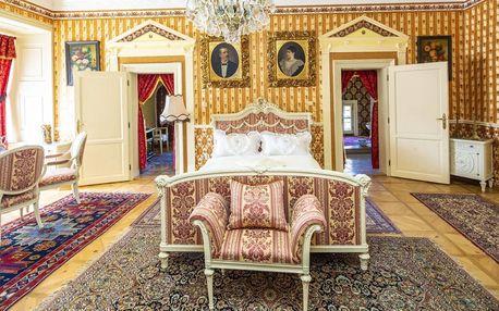 Romantický pobyt v zámeckém apartmánu pro 2