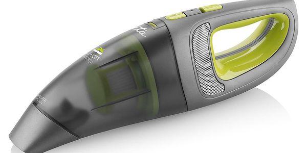 Akumulátorový vysavač ETA 342390000 černý/zelený3