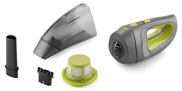 Akumulátorový vysavač ETA 342390000 černý/zelený5
