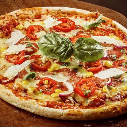 1 nebo 2 pizzy dle výběru ze 40 druhů