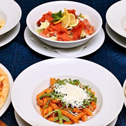 Tradiční italské speciality až pro 4 osoby