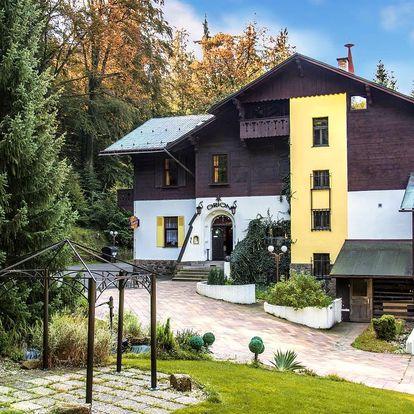 3–5 dní s rodinou v Jizerkách s výhledem na Ještěd