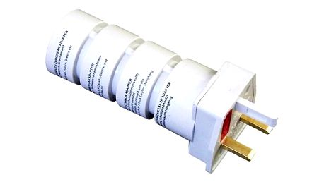 Cestovní adaptér SKROSS souprava UK, USA, AUS, AFR bílý (PA21)