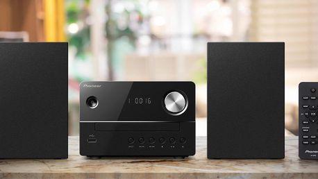 Malý audiosystém Pioneer s dálkovým ovládáním