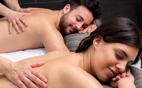Párová relaxace: vyberte si z pěti druhů masáží