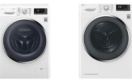 Set LG Pračka F94J8VS2W + sušička prádla RC91U2AV2W