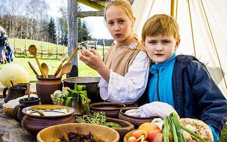 Keltská kuchyně: celodenní zábava ve skanzenu