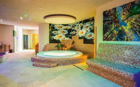 Neomezená wellness dovolená v nových apartmánech
