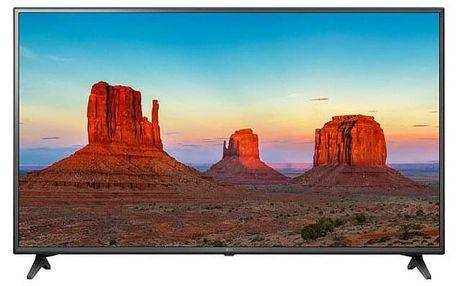 Televize LG 55UK6200PLA černá