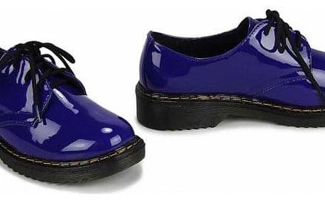 Dámské modré mokasíny Emotey 111