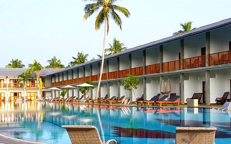 Srí Lanka - Carolina Beach (Chilaw) na 10 dní, snídaně s dopravou letecky z Prahy