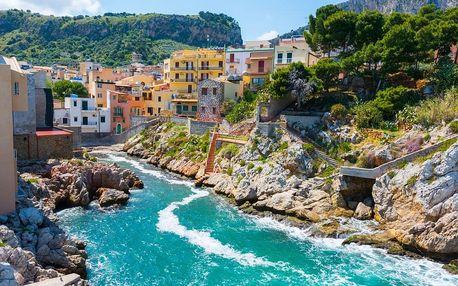 Itálie, Sicílie, letecky na 8 dní polopenze