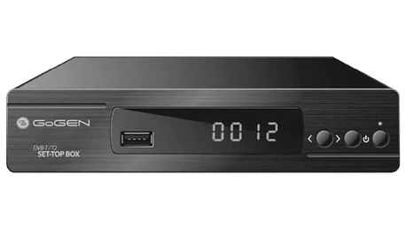 Set-top box GoGEN DVB168T2PVR černý