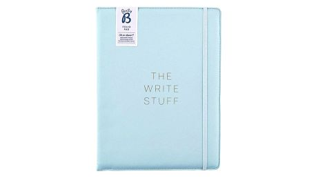 Busy B Desky s poznámkovým blokem Fashion A4, modrá barva, papír