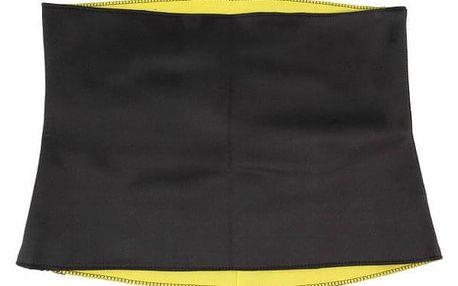 Zeštíhlující pás v černé barvě - 6 velikostí