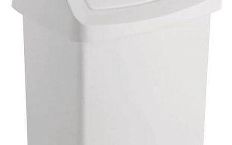CURVER CLICK 31421 Koš odpadkový 50l - bílý