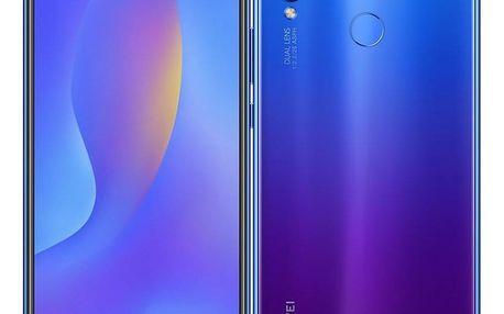 Mobilní telefon Huawei nova 3i fialový + dárek (SP-NOVA3IFOM)