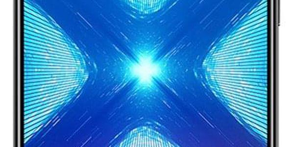 Mobilní telefon Honor 8X 64 GB Dual SIM (51093VPJ) černý SIM karta T-Mobile SIM s kreditem T-mobile Twist V síti 200 Kč kredit - hlasové volání v hodnotě 200 Kč3