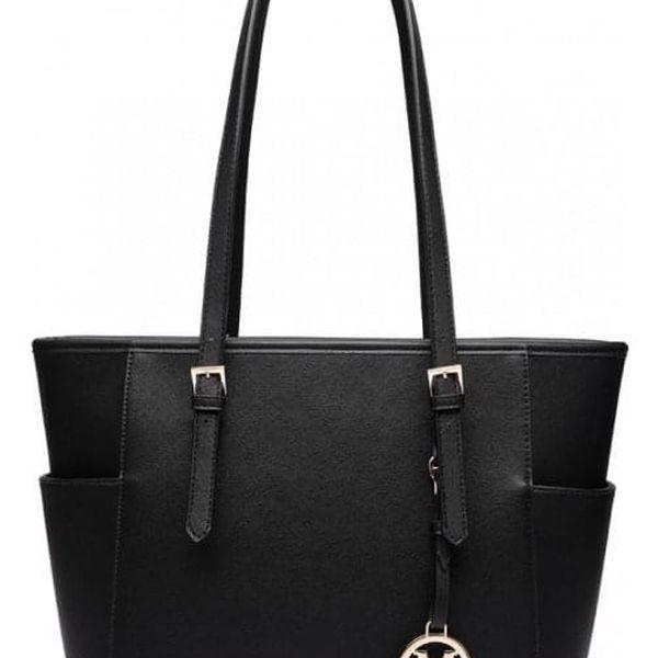 Dámská černá kabelka Donna 16424