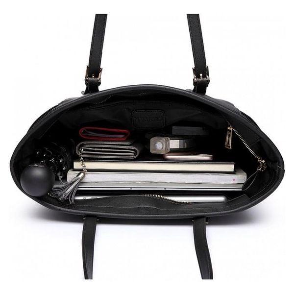 Dámská černá kabelka Donna 16425