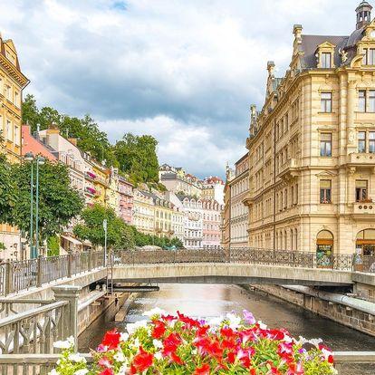 Jarní nebo letní pobyt v centru Karlových Varů