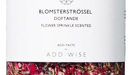 ADD:WISE Jedlé květy levandule, chrpy a vřesu 35gr, růžová barva, plast