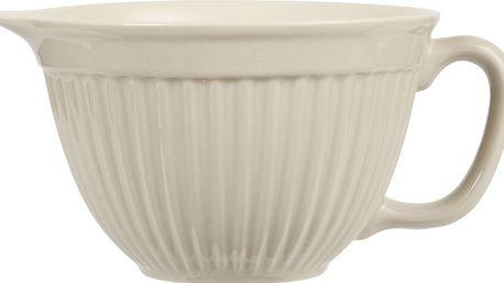 IB LAURSEN Mísa na těsto Mynte latte, béžová barva, keramika