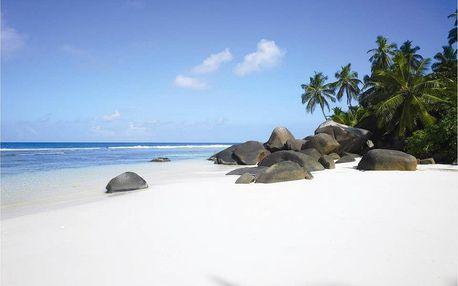 Seychely - mikroostrovy v Seychelách na 10 dní, snídaně s dopravou letecky z Prahy, přímo na pláži