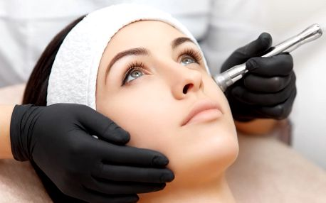 Kosmetické ošetření obličeje galvanickou žehličkou