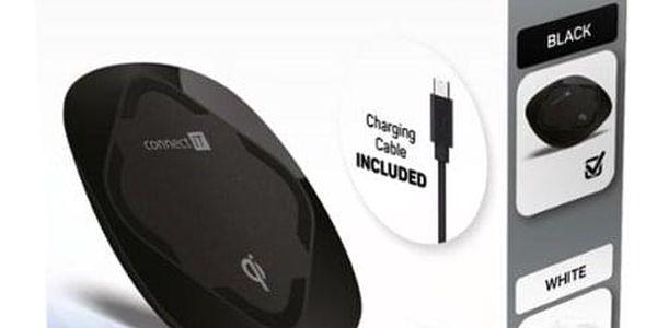 Bezdrátová nabíječka Connect IT Qi CERTIFIED Wireless Fast Charge černá (CWC-7500-BK)2