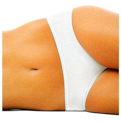 Kryolipolýza. Metoda je založena na řízeném mrazení tukových buněk vedoucí ke krystalizaci lipidů.