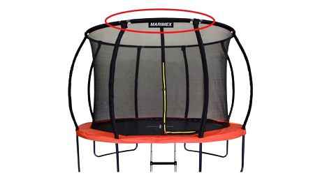 Marimex | Náhradní trubka horní obruče pro trampolínu Marimex Premium 457 cm | 19000755