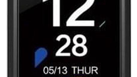 Fitness náramek Evolveo FitBand B3 pro měření krevního tlaku a tepové frekvence černý (FTD-B3)