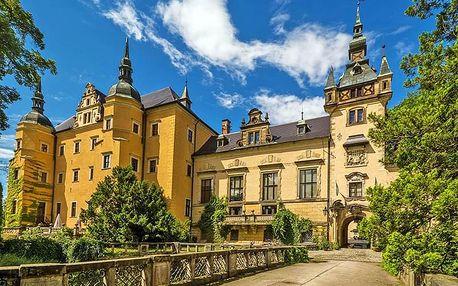 Polské Dolní Slezsko v zámeckém 4* hotelu s neomezeným vstupem do wellness a polopenzí