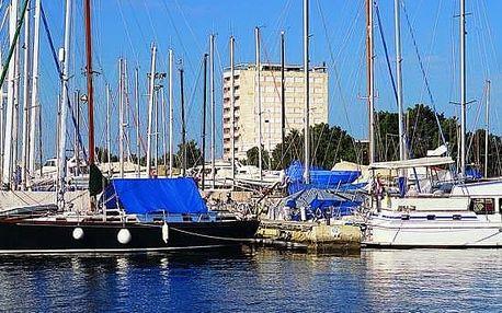 Chorvatsko - Umag na 8 dní, polopenze s dopravou vlastní, přímo na pláži