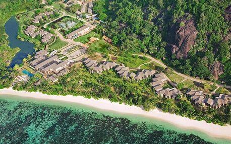 Seychely - Mahé na 10 dní, snídaně s dopravou letecky z Prahy, přímo na pláži