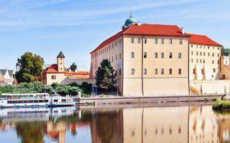 Hotel Junior*** v centru Poděbrad s polopenzí, termíny od července
