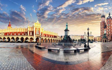 Objevujte Krakow z hotelu Wilga *** se snídaní