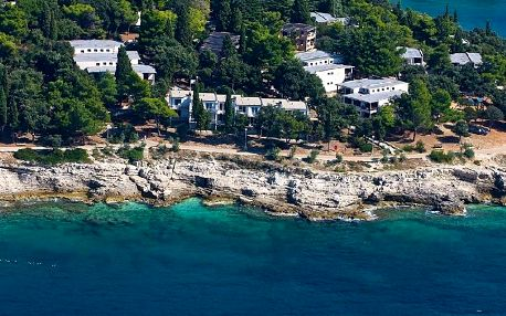 Chorvatsko - Pula na 10 dní, bez stravy s dopravou autobusem, přímo na pláži