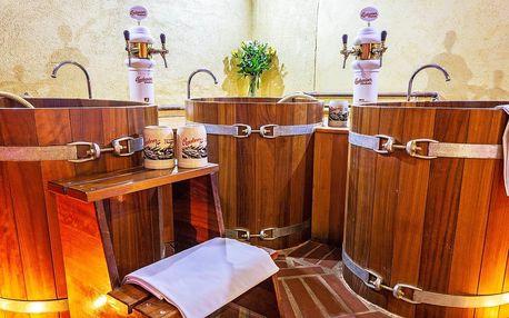 Pivní lázně: komfortní pobyt v centru Tábora