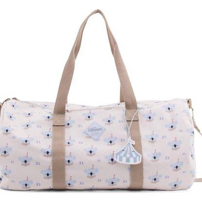 EEF lillemor Cestovní taška Circus Travel Bag Koala, béžová barva, plast, textil