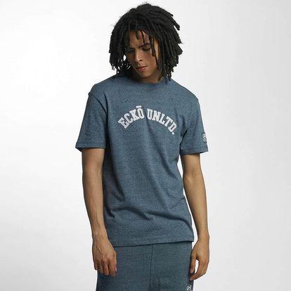 Ecko Unltd. / T-Shirt Melange in blue L