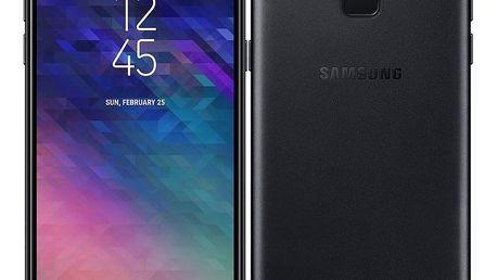 Mobilní telefon Samsung Galaxy A6 černý + dárek (SM-A600FZKNXEZ)