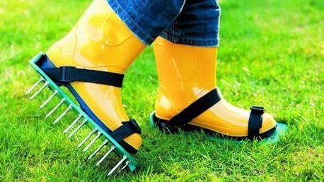 Boty na provzdušnění trávníku