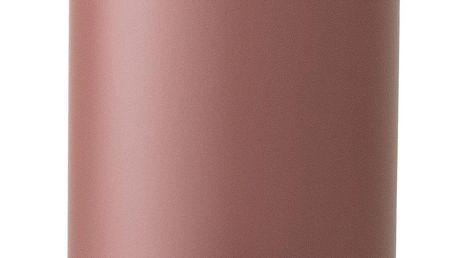 Bloomingville Odpadkový koš Rose, červená barva, růžová barva, kov