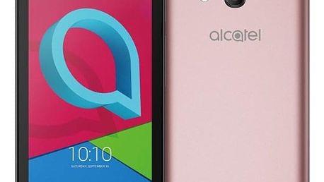 Mobilní telefon ALCATEL U3 4049D Dual SIM růžový + dárek (4049D-2FALE11)